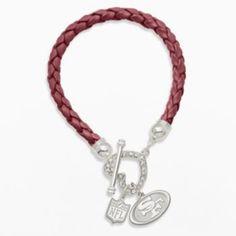 Women's New York Giants WinCraft Goldtone Charm Bracelet