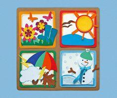 roční období - Hledat Googlem Autumn Activities, Activities For Kids, Crafts For Kids, Preschool Ideas, Craft Ideas, Snowman Cards, Frame, Artwork, Google