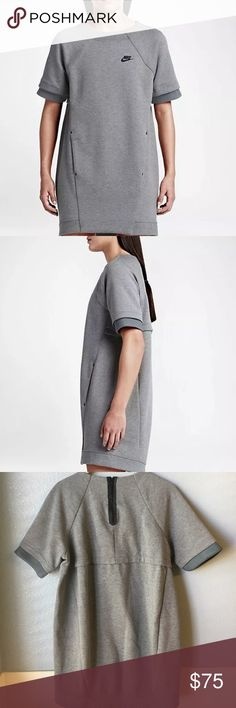 Nike tech fleece dress Never worn. Minor blemish on the bottom front (pictured) side pockets. Offers welcome! Nike Dresses