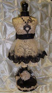 Creative and Elegant Inspiration dress form