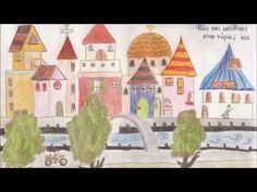 ΤΟ ΠΟΤΑΜΑΚΙ-ΓΙΩΡΓΟΣ ΛΑΠΑΔΑΚΗΣ - YouTube Music For Kids, Preschool Activities, Taj Mahal, Christmas Crafts, Diy Crafts, Education, Travel, Weather, Painting