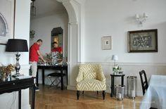Modern Classic Home - homelikeilike.com (piękne przejście, łuk)