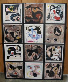 Panel of Ray's fine art