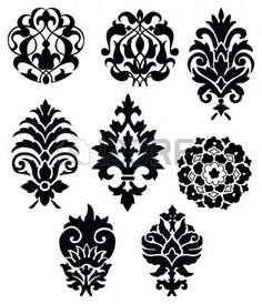 vector decor elements Stock Photo - 4053231