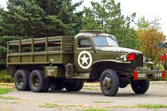 'GMC CCKW 353 Flatbed Truck US Army'