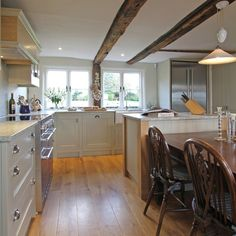 different layout beau port kitchens alton hants gb an in frame design mainly one painted color farrow ball old white