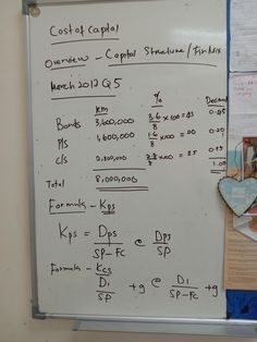 Cost Of Capital, Bond, Bullet Journal