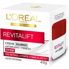 Creme de Tratamento Revitalift Diurno FPS 18 Dermo Expertise 49g L'Oréal Paris
