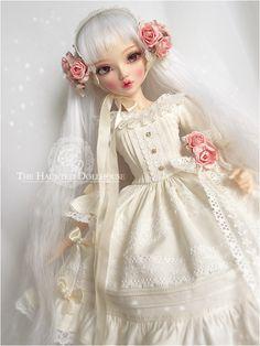 Chloe. minifee. ball jointed doll. fairyland. bjd. deisdollhouse. the haunt...