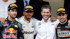 The 2016 Monaco Grand Prix in pictures. Mercedes Gp, Sergio Perez, Daniel Ricciardo, Monaco Grand Prix, Lewis Hamilton, Ubs, Formula One, Monte Carlo, Success