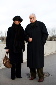 On the Street..... Via Roma, Paris.....The Sartorialist
