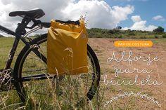 DIY: meu primeiro alforje de bicicleta