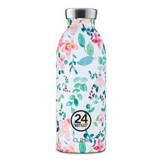 flaske Clima 500 ml Little Buds This is my new bottle! It is perfect if you want to go plastic free and also have beautifully designed bottle. Stainless Steel Drink Bottles, Ocean Projects, Little Buds, Color Menta, Carbonated Drinks, Print Coupons, Plastic Bottles, Water Bottles, Smoothies