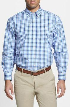 Vineyard Vines 'Tucker' Slim Fit Gingham Sport Shirt available at ...