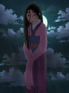 Mulan in the Rain by Glee-chan on DeviantArt