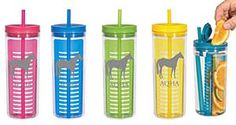 Just add fruit and go! #infusion #tumbler #hydrate #aqhaproud #aqha