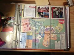 A way to put a brochure or map in PL ===3x3 format!!! cut up larger thing to fit~sb