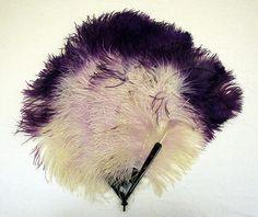 Fan Date: 1920s Culture: Italian Medium: ostrich feathers, tortoiseshell