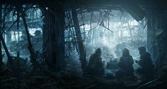 Ukraine war cyborgs airport