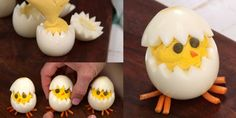 Deviled eggs have never been so cute.