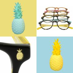Bensimon eyewear Collection printemps-été 2017 Summer Ananas Colours Pineapple
