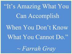 It's Amazing....Farrah Gray
