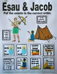 Image result for esau and jacob preschool activities