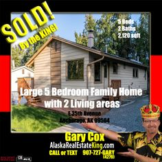 For more Properties FOR SALE by the KING, visit http://alaskarealestateking.com/  Check out the King's reviews from happy clients http://www.zillow.com/profile/Gary-Cox-Realtor/Reviews/