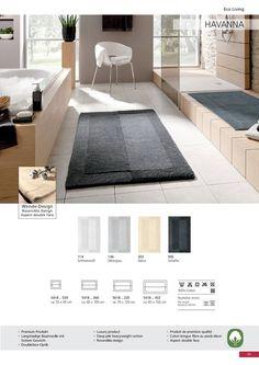 Reversible cotton rug design is exceptionally unique. Very soft and plush. Bath Rugs, Plush, Contemporary, Unique, Cotton, Design, Home Decor, Decoration Home, Room Decor