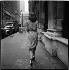 Stanley Kubrick. 1940's New York City.