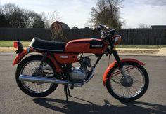 Rare in the US – 1972 Honda CB50   Bike-urious