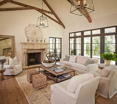 Love the neutral rug