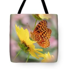 "Butterfly Dream Tote Bag 18"" x 18"""