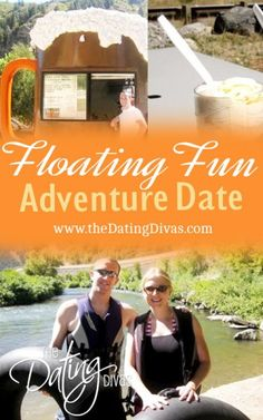 Stuck with You Floating Rafting Fun Date idea from The Dating Divas