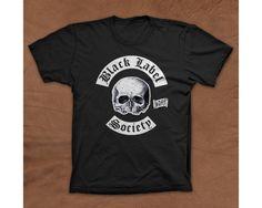 Black Label Society Logo Music Tshirt-404