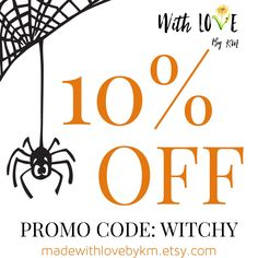 Happy Halloween Witches!  Celebrate with me and Shop my last sale until Black Friday!☠️ Save 10% on the entire shop with code WITCHY at checkout!!! Stock up on your favorite organic and vegan bath and body at madewithlovebykm.etsy.com