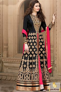 Purchase online black designer cigarette pant anarkali with cheap Price. Upgrade your wardrobe with this middle cut salwar suit. You can team with heels for a picture perfect look. #anarkalidressonline #pakistanianarkalisuits #bridesmaidanarkalisuits #partyweardesignersuits  order@http://www.pavitraa.in/catalogs/pakistani-bridesmaid-dresses-online/?utm_source=cp&utm_medium=pinterestpost&utm_campaign=30July  For Any query : Contact Us : +91-7698234040 (WhatsApp)