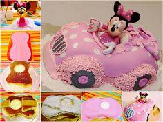 Minnie Mouse Cake Tutorial