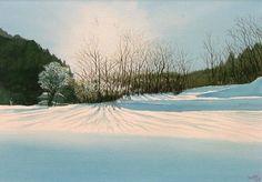 冬の水彩画帖 Winter - あべとしゆき水彩画ギャラリー Abe Toshiyuki Watercolor Web Gallery