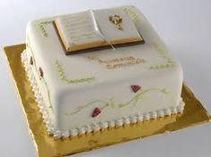 Resultado de imagen para tortas de comunion varon