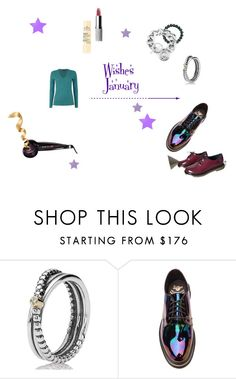 """""""Wishes January"""" by jess-i-superheld on Polyvore featuring Mode, Elizabeth Arden, Dr. Martens und Thomas Sabo"""