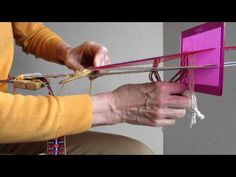 VIDEO: Rigid Heddle  Patterned band weaving with the Beaivi heddle.