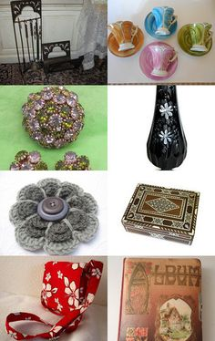 Our beveled wood framed mirror was included in this gorgeous treasury! -pinned with TreasuryPin.com