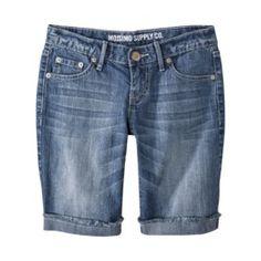 Mossimo Co. Denim Bermuda Shorts