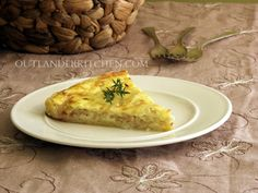 A traditional Alsace recipe for an Onion Tart from Outlander Kitchen chef and creator Theresa Carle-Sanders Outlander Recipes, Kitchen Recipes, Cooking Recipes, Great Recipes, Favorite Recipes, Onion Tart, Scottish Recipes, Diana Gabaldon, Appetizer Recipes