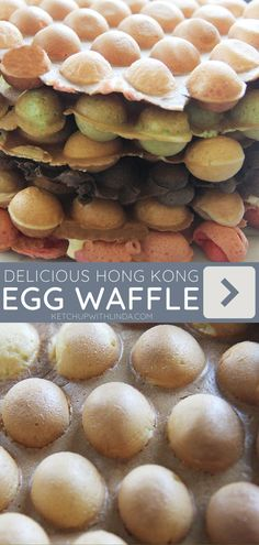The perfect recipe for Hong Kong Egg Waffle you could make at home! This famous street food is sure to impress family and friends. Make this quick and easy sweet treat for snacks or desserts!
