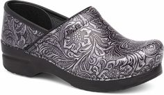 Dansko Professional Tooled Patent Leather Clog | The Cheshire Horse