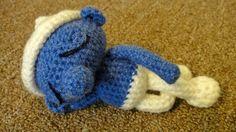 Lazy smurf - free pattern