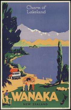 Charm of Lakeland • Wanaka • New Zealand ~ New Zealand Railways