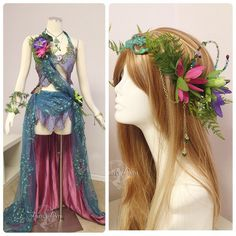 Water lily costume